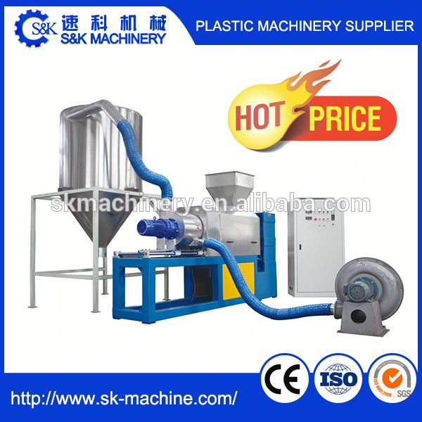 SK Plastic film squeeze dry cleaning machine with low energy
