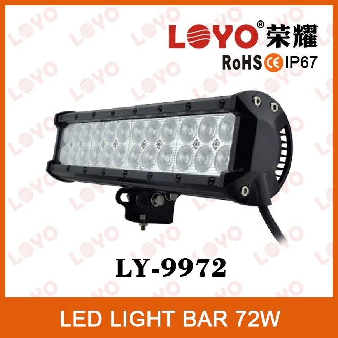 China Manufacturer 12v light bar High quality automobile 12 volt 72w led light bar