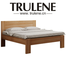 Solid Wooden Design Marriott Furniture Hotel Bed Frame For King&Queen size