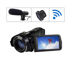 WIFI video camera full hd 1920x1080 HD digital outdoor action sport camera with remote control 3''screen