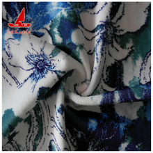 Velvet fabric Sofa Home textile western style super soft 0.5mm printed fabric Made in China Haining