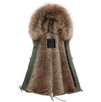 Real Fur Vest High Quality Men's Vest With Warm Fashion Waistcoats In Winter