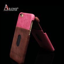 Guangzhou Wholesale fashion luxury handmade leather phone case for iphone 6s