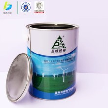 5L Industrial use Chemical oil paint pail metal tin barrels with lid