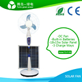 15w DC Solar Power Fan LED lights for Home Warranty for 1 year