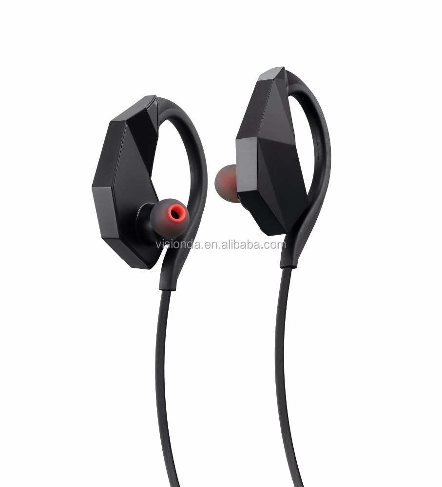 Portable CVC6.0 noise cancelling Wireless waterproof bluetooth headset mp3 for swimming