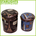 Hot Sale metal bucket design storage stool