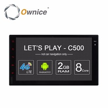 Ownice C500 8 Core Android 6.0 2G RAM 32G ROM car audio player for two din universal Support OBD DBA+ TPMS 4G LTE