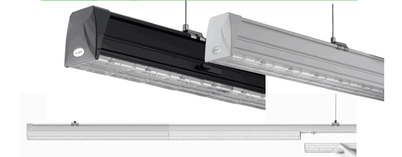 No Dark ,Connect 1 by 1, Trunking System LED Linear Light by Inner Rail