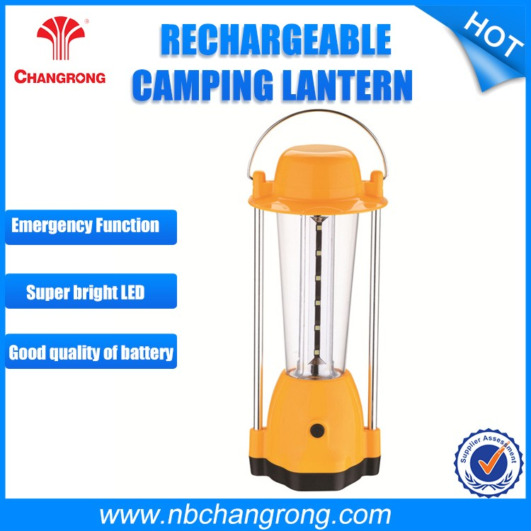 High Quality Portable Rechargeable LED Camping Lamp Lantern