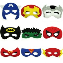 2017 new design party eye felt animal half face mask with low price