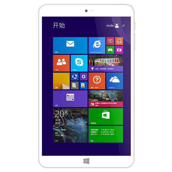 Factory Price 8inch Intel Z3735F Quad Core Tablet 2GB RAM 16GB / 32GB ROM WIFI Win 8 OS Onda V820w Tablet PC
