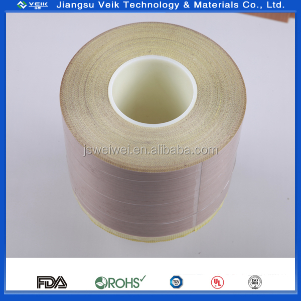 0.24 MM Brown ptfe coated glass fabric EASY CLEAN baking mat FDA certificated