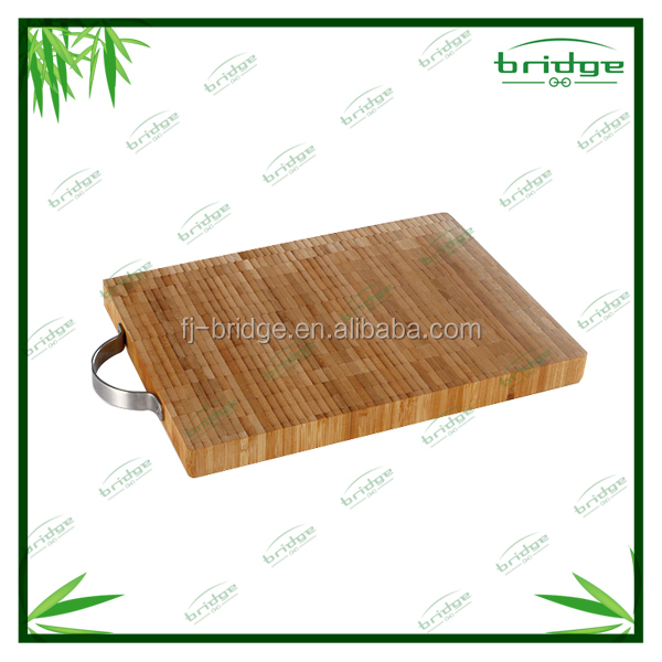simple-designed high quality thick bamboo and wooden cutting board