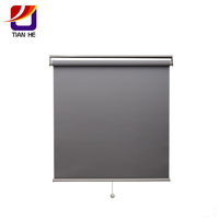 Custom Office blackout roller blinds and curtain for meeting room