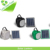 Special promotion:Black Solar lantern system with AC charger and USB charger port