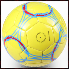 match laminated football , promotional soccer balls 6 panel