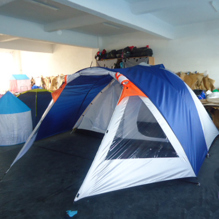 Latest New Tunnel Family Outdoor Camping House Tent