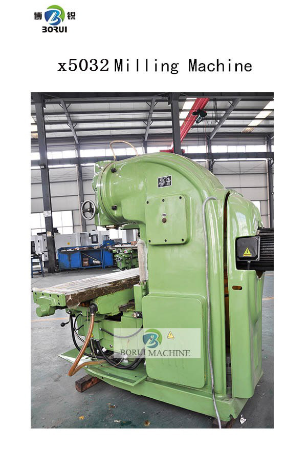 x5032 high precision universal vertical milling machine with CE