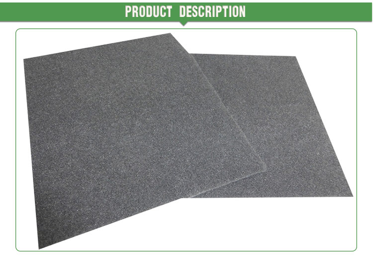 Automobile interior materials nonwoven