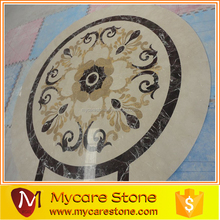 Round Marble Stone Waterjet/medallion Pattern Inlay For Floor/waterjet Marble Medallion