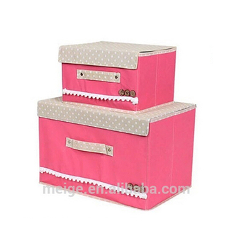 Hot Selling Collapsible Fabric Storage Box