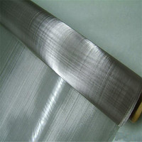 Plain weave 310s 304 316 stainless steel wire mesh roll /screen netting