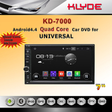 2 DIN Universal Android 5.1 Car DVD Player 7 Inch TFT LCD Screen, GPS, Dual Core CPU, Wi-Fi, 3G