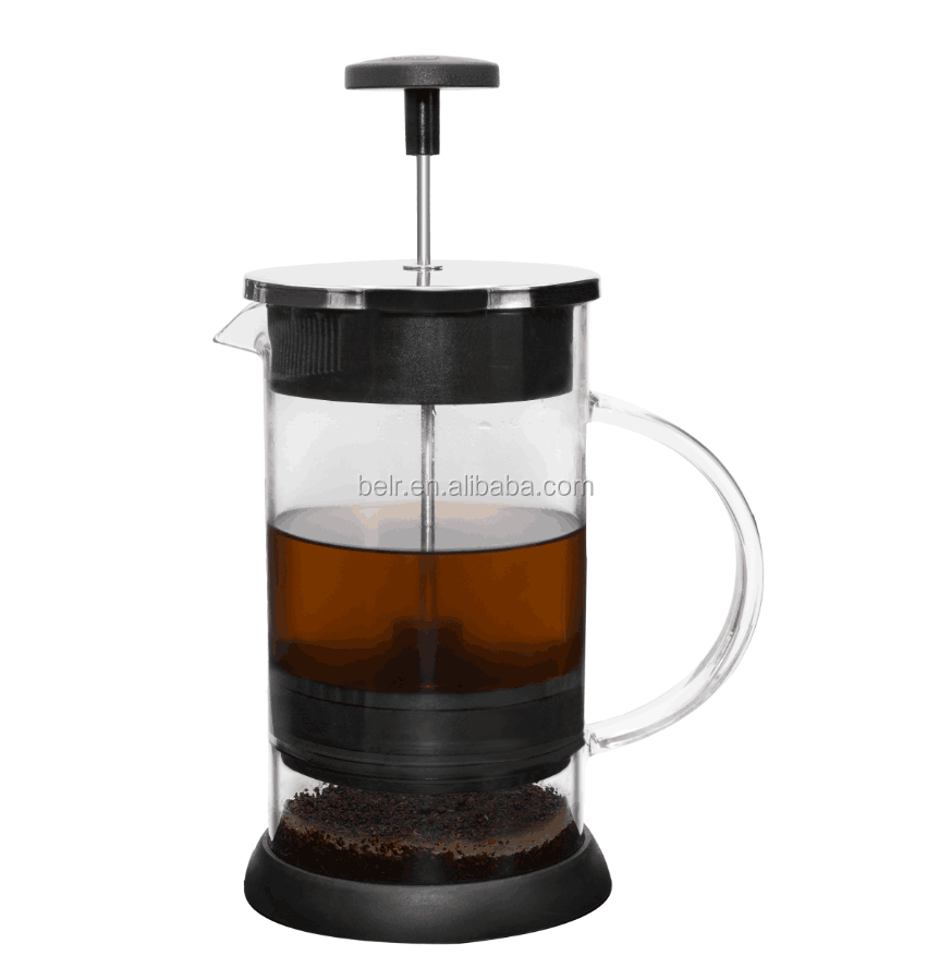 2017 Newest Bodum Tea Pot French Coffee Press Infuser with Glass Handle