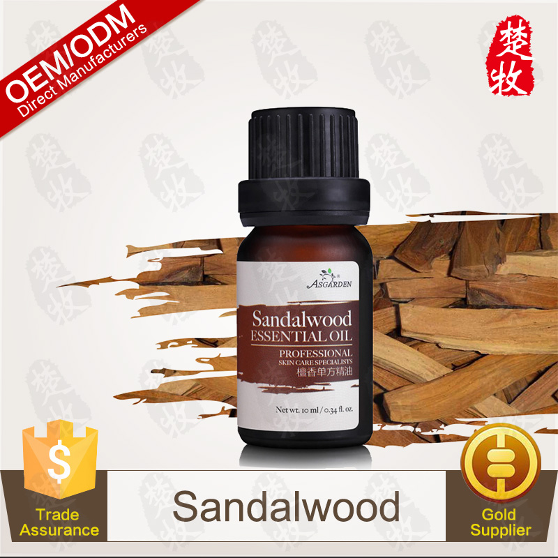 Sandalwood Essential Oil, 100% Pure and Natural, OEM/ODM Provided