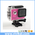 1080P 60fps 4K 24fps Waterproof Action Sport Camera,Helmet Cam 30M Waterproof camera Car DVR