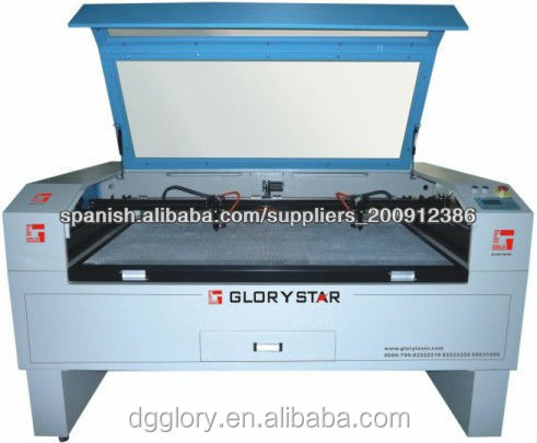 3d dynamic galvo meter 275w auto feed co2 laser cutting machine for fabric with metal tube
