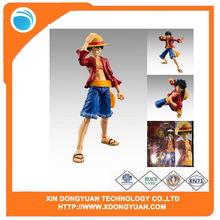 Hot Sale One Piece Action Figures Plastic Toys