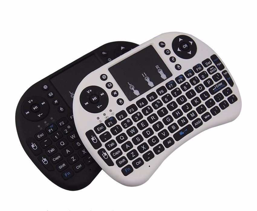 2017 latest price Wireless Keyboard Mini I8 international Air Mouse for TV Box PCs OS