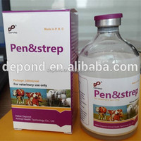Peniillin G Dihydrostreptomycin sulphate injection Veterinary medicine