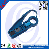 Coaxial Cable Stripper Tool For RG59/62/6/11/7/213/8 UTP Round Cables