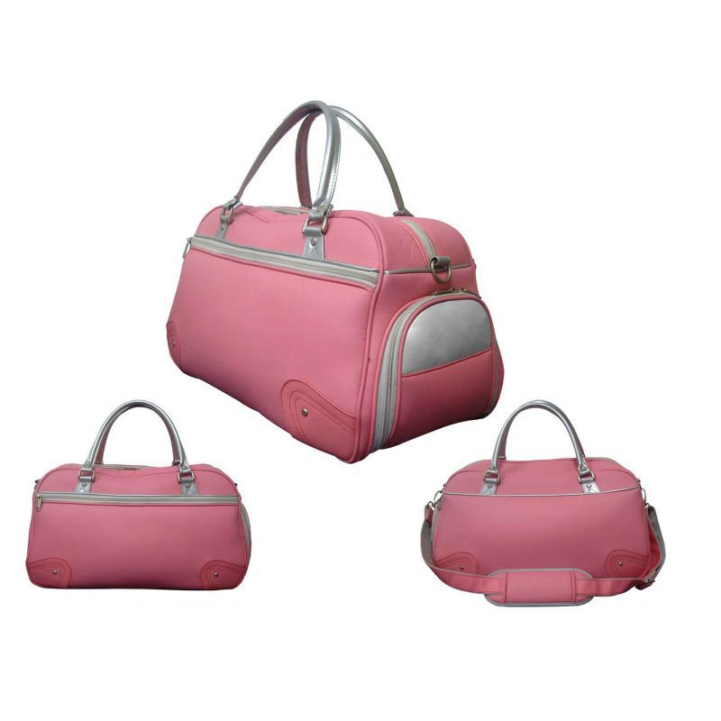Leather Pink Lady Golf Boston Bags