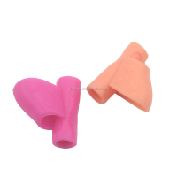 three finger Silicone Pencil Grip/Rubber Fingertip Grips/Pen Holder
