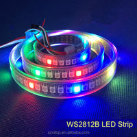 Addressable WS2812b SMD 5050 Digital Led Strip/Led Tape 144 Leds CE RoHs Certificate High Brightness New