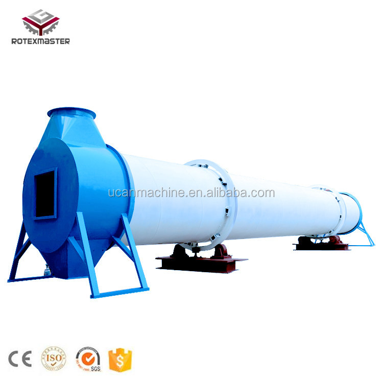 New improved industry rotary drum dryer for sand quarry fertilizer