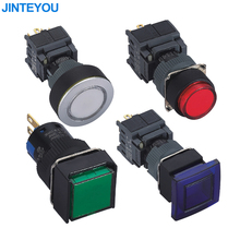 Low Voltage Led Waterproof Electrical Plastic Push Button Switch
