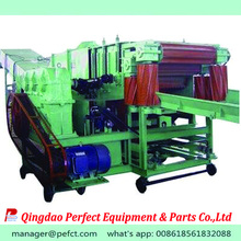 Rice straw and wheat straw recycling machine for paper making industry