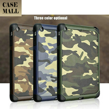 Camouflage tablet case Genuine leather skin tablet case for ipad mini2