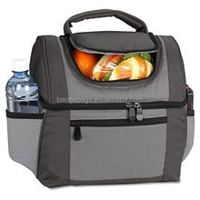 OEM food grade 420d polyester/PVC fitness cooler lunch bag lunch bag for adults