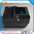 "4"" thermal transfer lable printer,tag printer,imported thermal printer head with automatic correction paper and carbon"