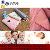 Hot-sale breathing cotton 20V hot electric heating blanket with competive price
