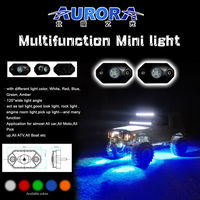 "Fashion design 2"" 9W RGB mini off road motorcycle parts"
