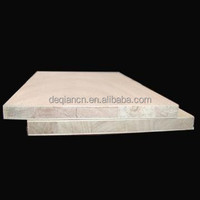 double-side white faced falcate finger joint wood board