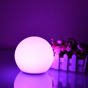 Led garden ball light,led glow ball,Waterproof LED glowing round plastic led ball light outdoor