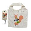 Fashion Design printed tote bag Foldable and Waterproof Polyester Nylon Shopping bag